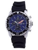 Ratio 200M Diver Quartz Chronograph Sapphire 48HA90-17-CHR-BLU Men's Watch