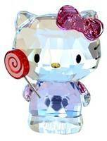 Estatueta de cristal Swarovski 5269295 Hello Kitty Lollipop