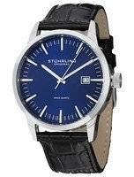 Stuhrling Original Classic Ascot 42 Swiss Quartz Date Display 555A.04 Men's Watch