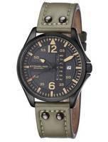 Stuhrling Original Aviator Quartz Day And Date 699.03 Men's Watch