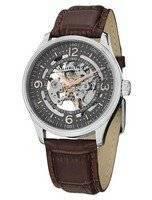 Stuhrling Original Denmark Delphi Automatic Skeleton Grey Dial 730.02 Men's Watch