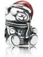 PANDORA 791391ENMX Charme Mulher Urso de Natal