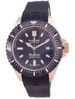 Relógio masculino Edox Skydiver Neptunian Diver Automático 8012037RNNCANIR 80120 37RNNCA NIR 1000M