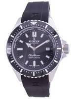 Relógio masculino Edox Skydiver Neptunian Data do mergulhador automático 801203NCANIN 80120 3NCA NIN 1000M