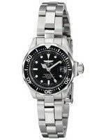 Relógio Invicta Pro Divers 200M Quartz Black Dial 8939 Mulher
