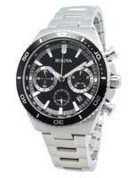 Relógio Bulova 98B298 Cronógrafo de quartzo para homem