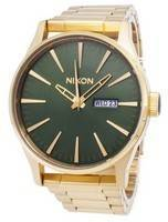 Relógio Nixon Sentry SS quartzo A356-1919-00 masculino