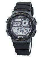 Relógio Digital para Casio Juventude Hora Mundial Digital AE-1000W-1AV AE1000W-1AV