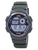 Casio Illuminator World Time Alarm Digital AE-1000W-3AV AE1000W-3AV Men's Watch
