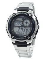 Casio Juventude Iluminador Hora Mundial Digital AE-2100WD-1AV AE2100WD-1AV Assista Men