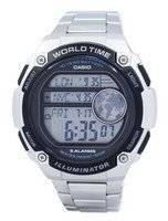 Casio Youth Illuminator World Time Digital AE-3000WD-1AV AE3000WD-1AV Men's Watch