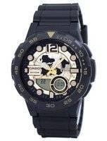 Casio World Time Alarm Analog Digital AEQ-100BW-9AV AEQ100BW-9AV Men's Watch