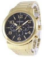 Citizen Chronograph Gold Tone AN8052-55E Men's Watch