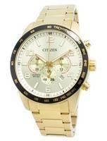 Relógio Citizen AN8163-54P com taquímetro e quartzo para homem