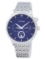 Citizen Eco-Drive Fase da Lua Japão fez relógio dos homens AP1050-56L