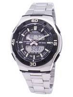 Casio Analog Digital Youth Series Illuminator AQ-164WD-1AVDF AQ-164WD-1AV Men's Watch