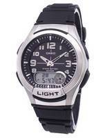 Casio Analog Digital Illuminator Telememo AQ-180W-1BVDF AQ-180W-1BV Men's Watch