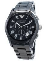 Emporio Armani Ceramica AR1400 Chronograph Quartz Men's Watch