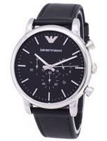 Relógio Emporio Armani clássico Cronógrafo Quartz AR1828 masculino