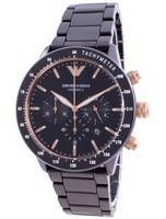 Emporio Armani Ceramica Mario Chronograph Quartz AR70002 Men's Watch