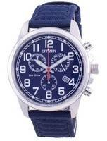 Citizen Chandler Blue Dial Eco-Drive AT0200-21L 100M Men's Watch