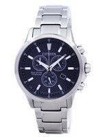 Citizen Eco-Drive Titanium Chronograph AT2340-81E Men's Watch