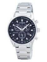 Citizen Eco-Drive Chronograph Tachymeter AT2390-58E Men's Watch