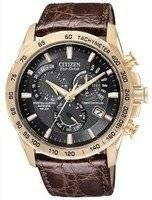 Citizen Eco Drive Limited Edition Atomic Perpetual Chronograph AT4003-04E Mens Watch