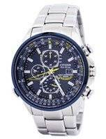 Citizen Eco Blue Angels Radio Controlled World Chronograph AT8020-54L Men's Watch
