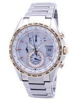 Citizen Eco-Drive Chronograph Power Reserve Radio-Controlled AT8156-87A Men's Watch