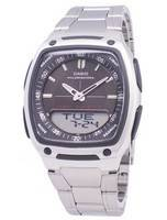 Casio Analog Digital Telememo Illuminator AW-81D-1AVDF AW-81D-1AV Men's Watch