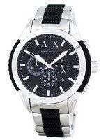 Armani Exchange Chronograph Black Dial AX1214 Men's Watch