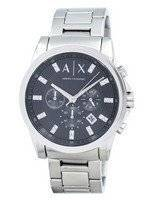 Armani Exchange Chronograph Crystals Grey Dial AX2092 Men's Watch
