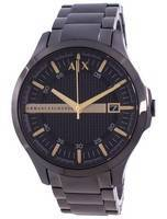 Armani Exchange Hampton Black Dial Quartz AX2413 Men's Watch