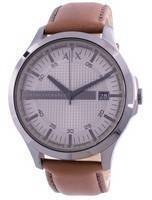 Armani Exchange Hampton Grey Dial AX2414 Quartz Men's Watch