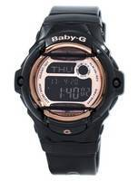 Casio Baby-G Digital World Time Databank BG-169G-1 BG169G-1 Women's Watch