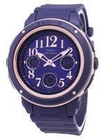 Relógio Casio Baby-G BGA-150PG-2B2 Iluminação Analógica Digital para Mulher