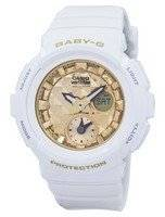 Casio Baby-G Shock Resistant World Time Analog Digital BGA-195M-7A Women's Watch