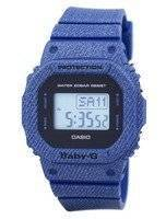Casio Baby-G Denim'd Alarm Digital 200M BGD-560DE-2 BGD560DE-2 Women's Watch