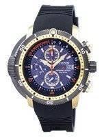 Relógio Citizen Promaster Aqualand Diver Eco-Drive Cronógrafo BJ2124-14E Men