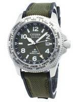 Relógio Citizen Promaster BJ7100-23X World Time Eco-Drive 200M para homem