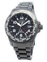Relógio Citizen Promaster BJ7107-83E, hora mundial do mundo Eco-Drive 200M