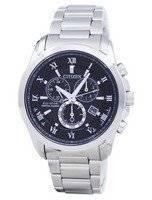 Citizen Eco-Drive Chronograph Perpetual Calendar Alarm BL5540-53E Men's Watch