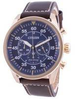 Citizen Chronograph Calf Leather Eco-Drive CA4213-26L 100M Men's Watch