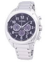 公民生態驅動 ca4310-54e 超級鈦計時碼表男士手錶