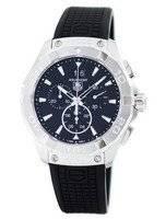 Tag Heuer Aquaracer cronógrafo quartzo suíço fez 300M CAY1110. FT6041 Relógio masculino