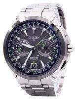 Citizen Eco-Drive Attesa Titanium Satellite Wave Air GPS 100M CC1086-50E Men's Watch