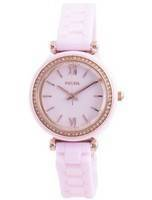 Fossil Carlie Mini Diamond Accents Quartz CE1106 Women's Watch