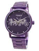 Coach Grand 14502923 Analog Quartz Women's Watch