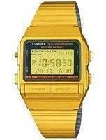 Casio Digital 5 Alarm Multi-Lingual Data Bank DB-380G-1DF DB380G-1DF Men's Watch